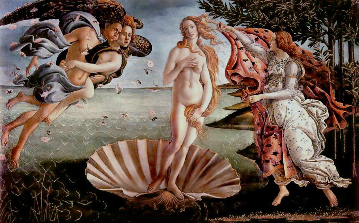 Обнажённая натура в мировой живописи. Век 15-16
